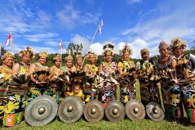 Tari Gong, Tarian Tradisional Suku Dayak di Kalimantan Timur