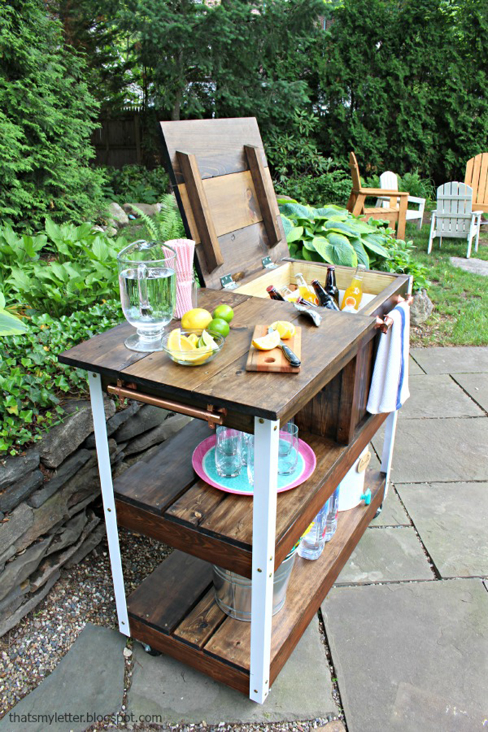 diy to try grill carts ohoh blog