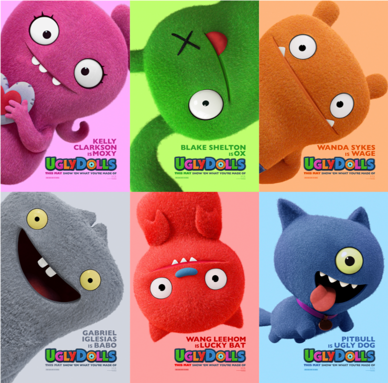 Uglydolls Poster Trailer Coming This Thursday Sandwichjohnfilms