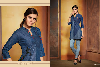 Kajree fashion Walker Denim tops wholesale