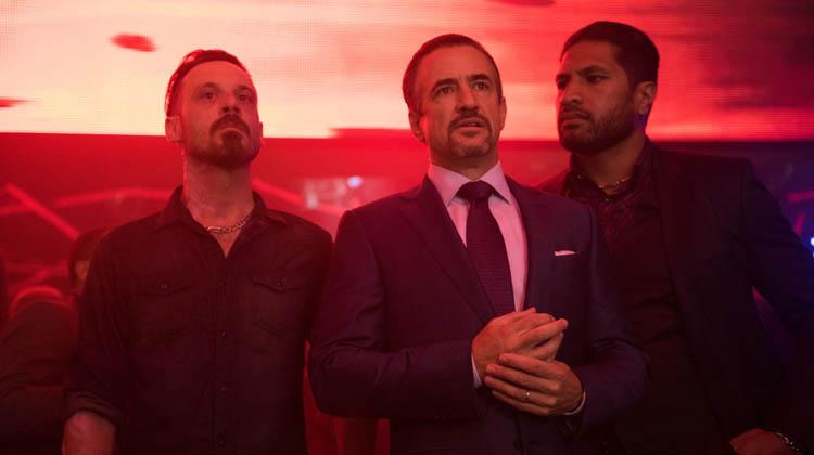 Delmot Mulroney y Scott Mcnairy en 'Noche de Venganza'