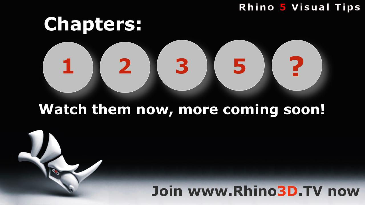 Rhino News, etc : Rhino Visual Tips 5 Collection