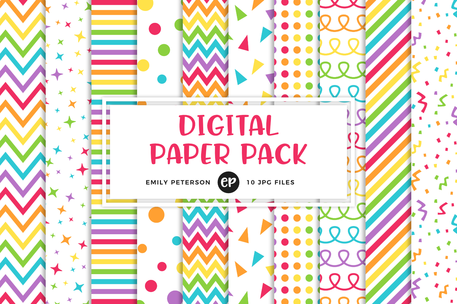 Rainbow Digital Papers, Emily Peterson