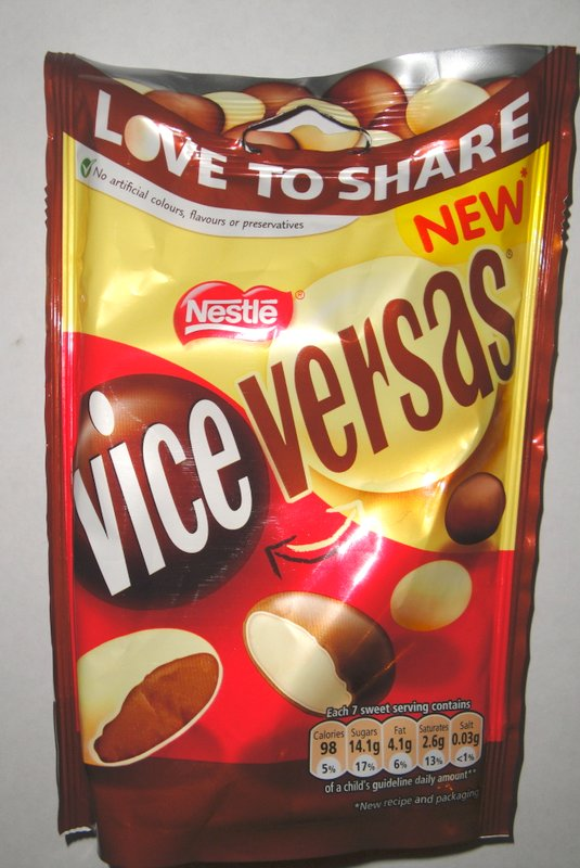Grocery Gems Vice Versas Chocolates Theyre Back