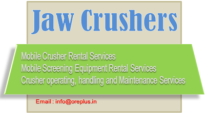 Jaw Crusher on Rent, Jaw Crusher manufacturer,...