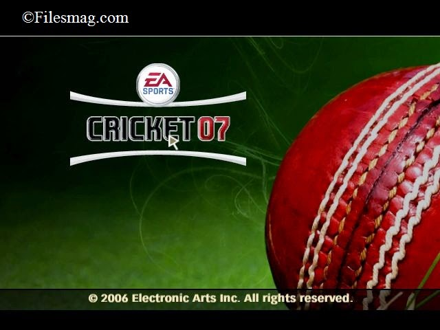 Cricket 2007 PC Game Free