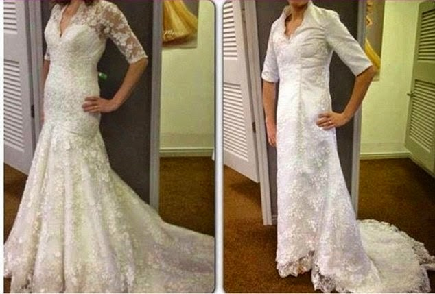 Knockoff Nightmares Angry Brides Reveal Ugly Copies Of Designer Wedding Dresses