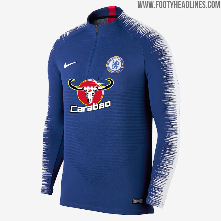 df5858c34 Nike Chelsea 18-19 VaporKnit Training Kit Released - Footy Headlines