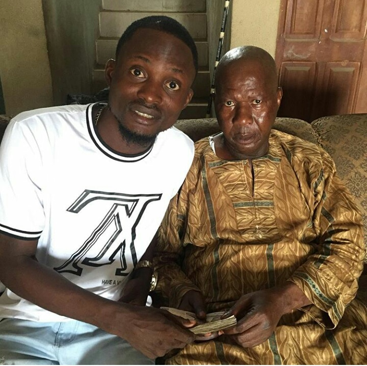 Image result for Baba suwe meeting with woman who gave him 10million BABA SUWE FINALLY MEETS BENEFACTOR WHO GAVE HIM 10MILLION NAIRA (SEE DETAILS) BABA SUWE FINALLY MEETS BENEFACTOR WHO GAVE HIM 10MILLION NAIRA (SEE DETAILS) IMG 20190219 WA0017