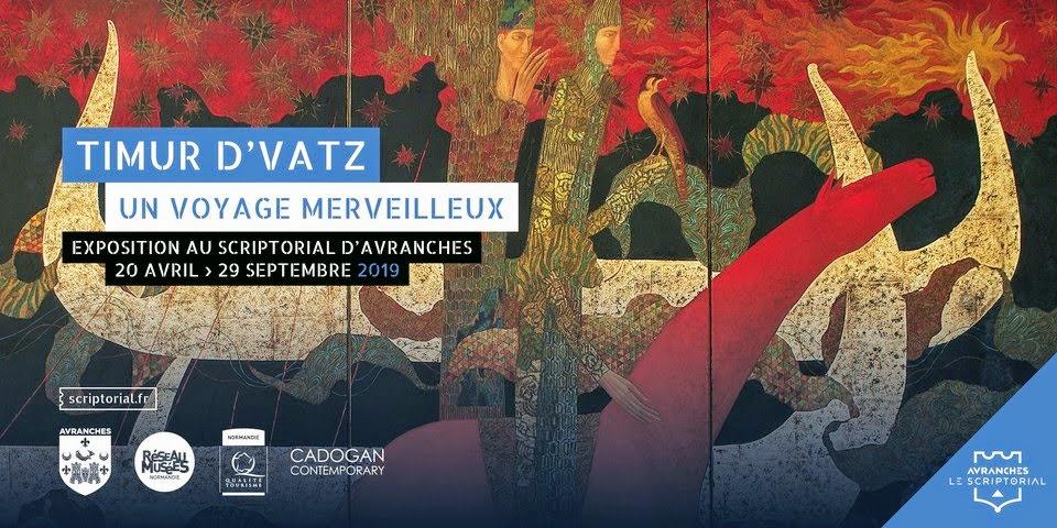 L'affiche d'exposition de Timur D'Vatz