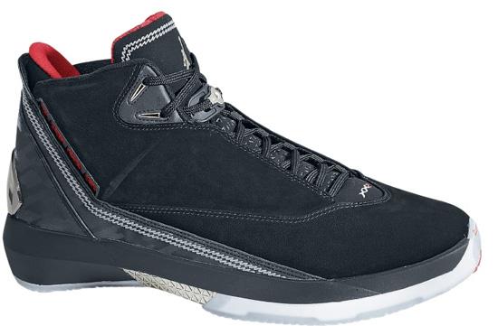 18f6f47a0c637d Air Jordan XX2 (04 07 2007) 315299-001 Black Varsity Red-Metallic Silver   175.00