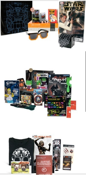 Loot Crate Geek and Gamer Gear! Promo code $3 off subscription