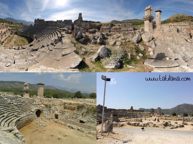 Xanthos Ksanthos Antik Kenti