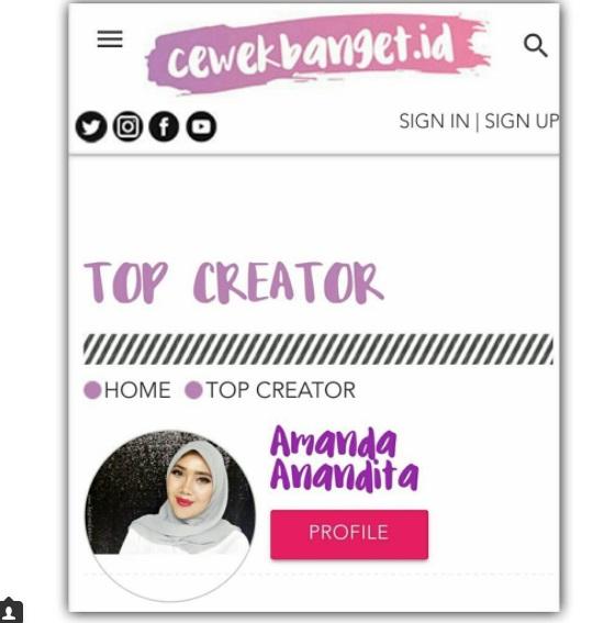 eTop Creator Cewek Banget ID