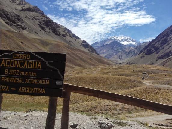 Parque del Aconcagua desde El Cristo Redentor