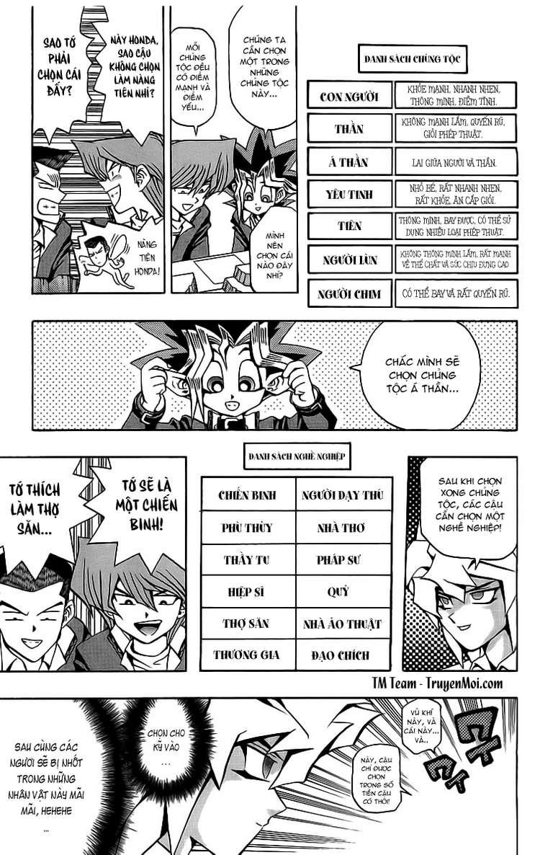 YUGI-OH! chap 51 - thế giới quái vật trang 7