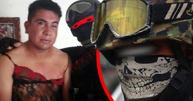 VIDEO Nuevo del Marino Loko, el militar que caza Narcos y los viste de mujer