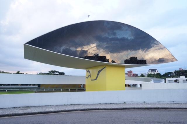 Museu do olho. Museu Oscar Niemeyer (MON, Curitiba-PR)