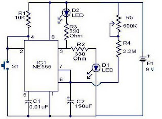 10 Minute Timer with IC 555