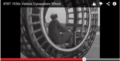 1930s Vehicle Dynasphere Wheel #TBT  ~ Travel by Bus