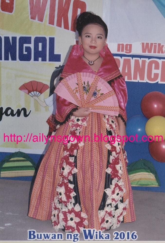 Ailyn S Gown Filipiniana Maria Clara