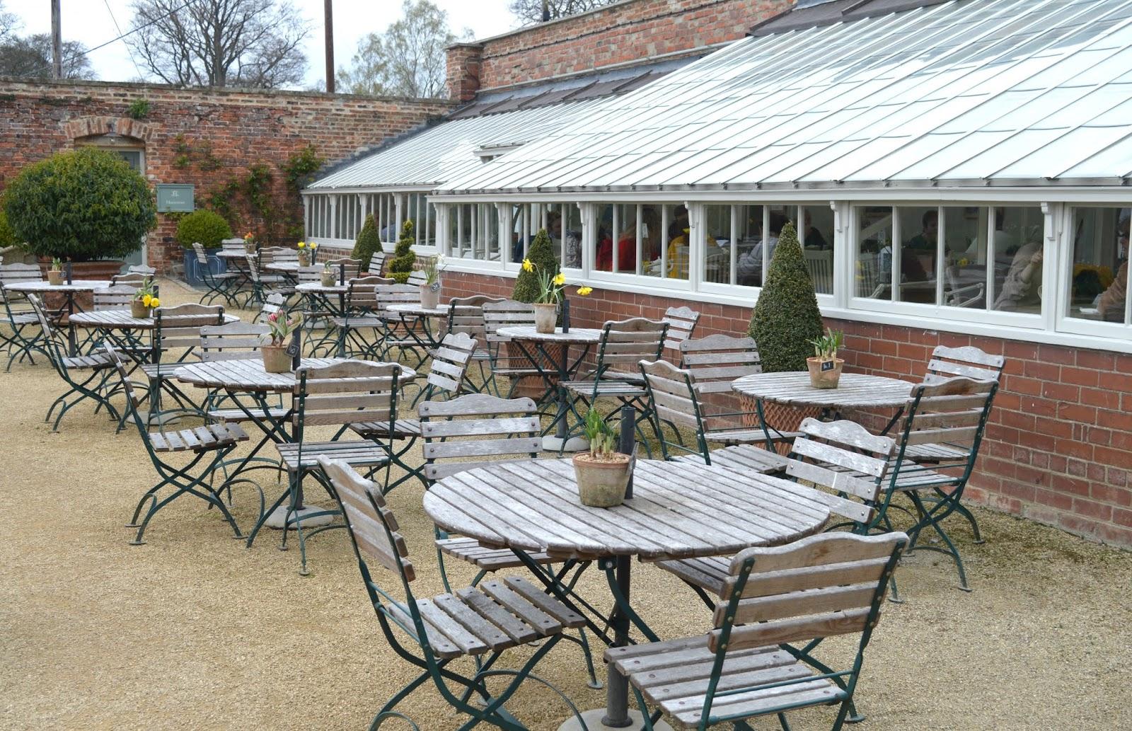Bradley Gardens Wylam Glasshouse Cafe