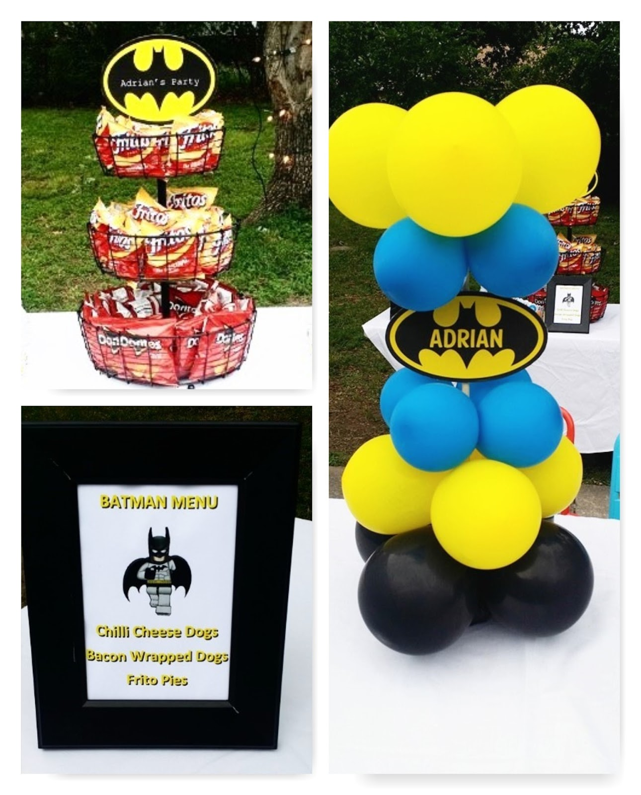 Batman Birthday Theme Ideas Beautified Creations