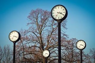 watches, art, time, time of, time indicating, pointer, clock face, hours, timepiece, hour clock, artwork, düsseldorf, sculpture, park, metal, modern art, nature, sky, landscape, trees, artifice, metal