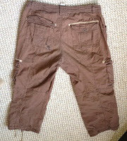 How to Make a Steampunk Pocket Belt from Old Cargo Shorts, DIY with Gail Carriger