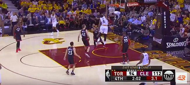 HIGHLIGHTS: Cleveland Cavaliers vs. Toronto Raptors (VIDEO) Game 1 / East Semis