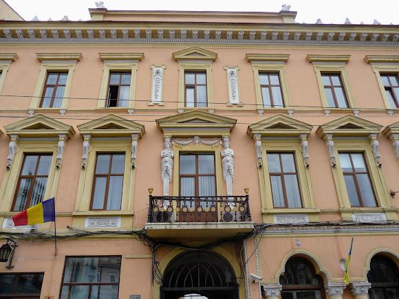 Черновцы. Бывший отель «Вайс». Апелляцилнный суд. Румынский Народный Дом