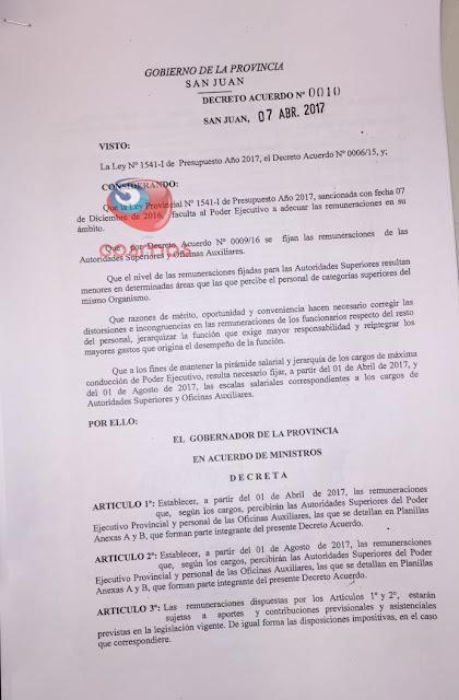 HUMILDAD CODICIOSA DE UÑAC CON RELACIÓN A LOS AUMENTOS DE SUELDO