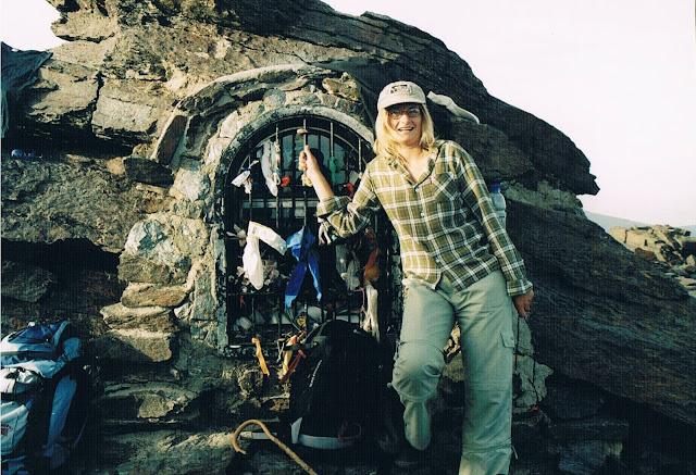 Oto ja na szczycie. Mulhacen 3.478,6 m zdobyty