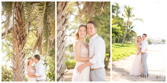 Honeymoon portraits in Maui, Hawaii