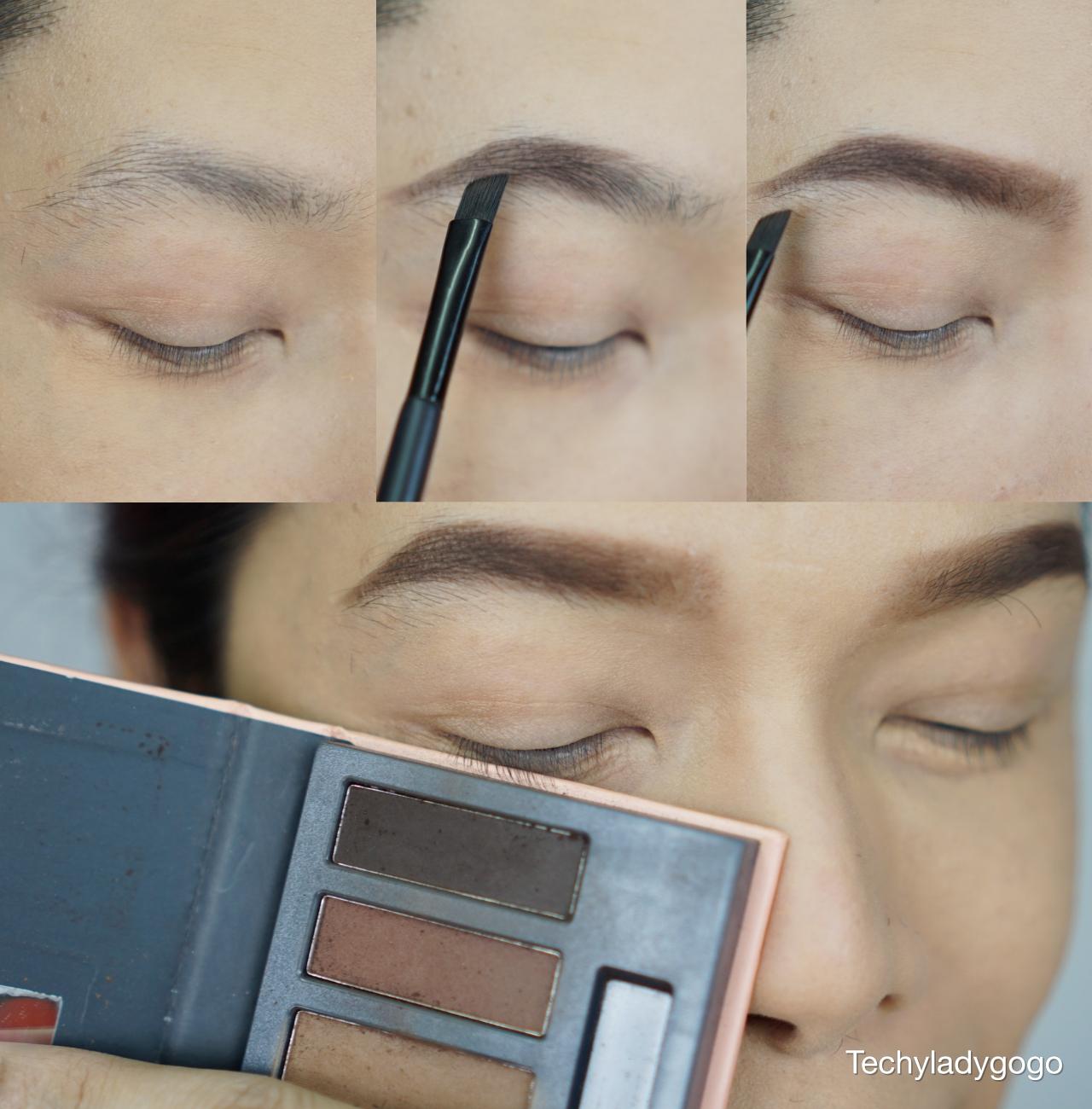 แต่งหน้าด้วยเครื่องสำอาง คิวท์เพรส cute press twilight Garden eyeshadow palette and lip plumping