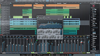 Recording studio with auto tune