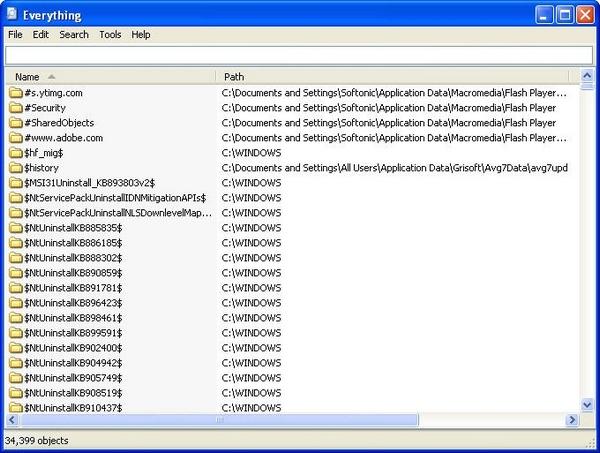 Cara Mencari File Dengan Cepat, Menggunakan Software Everything