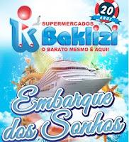 Promoção Embarque dos Sonhos Baklizi Supermercados
