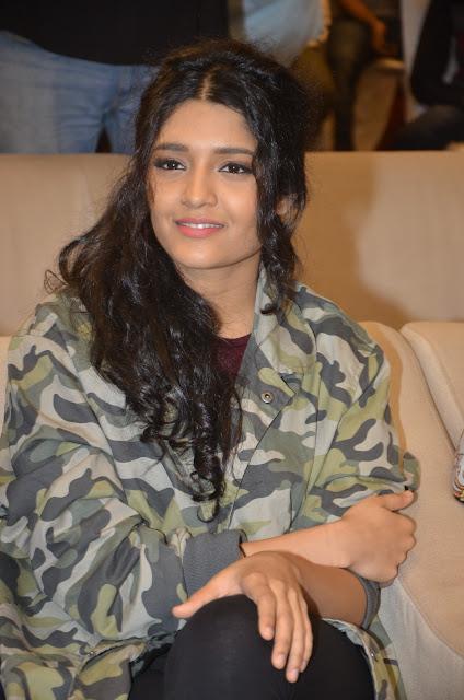 Ritika Singh at Guru Telugu Movie Audio Launch