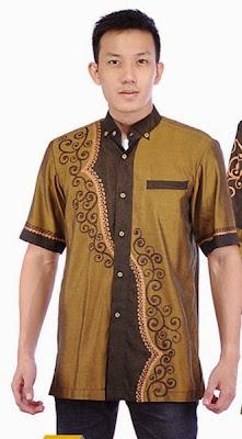 Model Baju Muslim Koko Pria Modern Terbaru