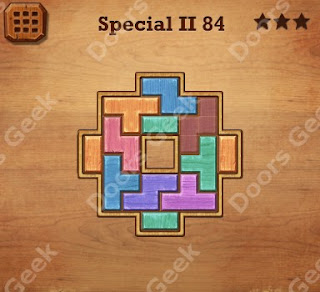 Cheats, Solutions, Walkthrough for Wood Block Puzzle Special II Level 84
