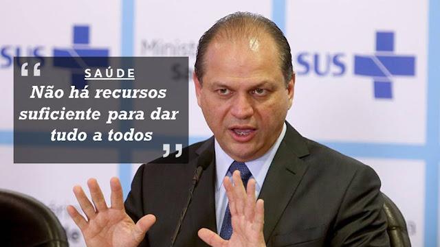 Ministro da Saúde, Ricardo Barros