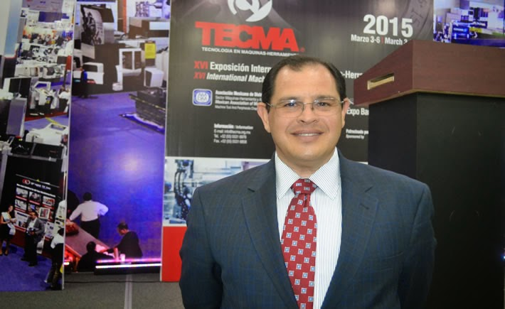 Luis G. Lizcano, director General de la Femia participó en Tecma 2015. (Foto: VI)