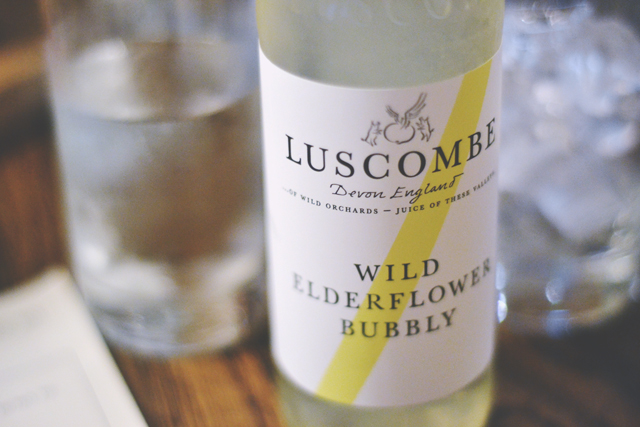 Luscombe Elderflower made in Devon