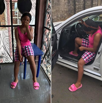 Dating Saga!! What Is Blogger Emasoga Priscilla Doing In Clement Ogudu's Home Since Two Weeks Now?