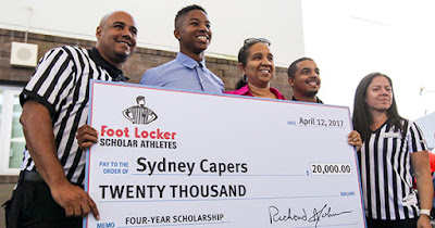 Footlocker scholarship winner