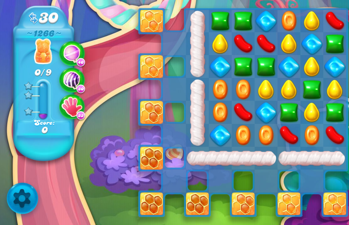 Candy Crush Soda Saga level 1266