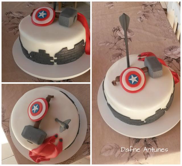 Bolo dos Vingadores - Avengers cake