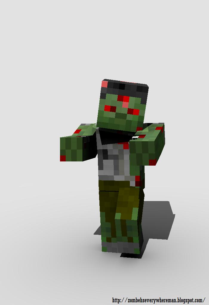 "Creepypasta minecraft ""El zombie "" - Taringa!"
