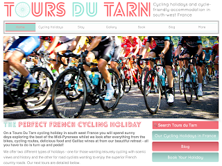 Tours du Tarn website